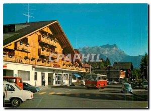 Postcard Modern Villars sur Ollon La Gare The Teeth of Morcles