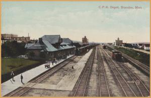 Brandon, Manitoba - Canadian Pacific Station - 2