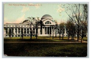 Vintage 1910's Postcard Panoramic View The New National Museum Washington DC