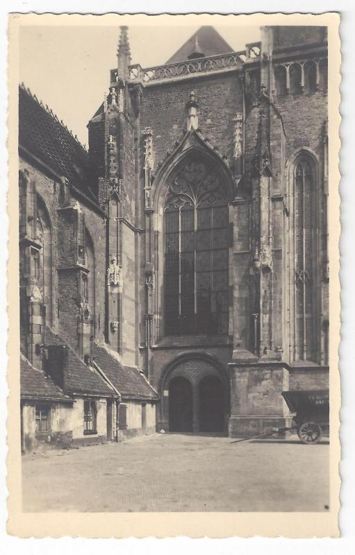 RPPC Netherlands Deventer Lebuinuskerk Church Real Photo