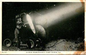 Virginia Fort Eustis 60 Inch Searchlight