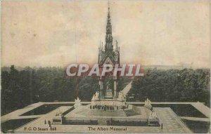 Old Postcard The Albert Memorial London