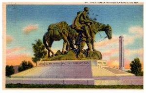Missouri Kansas City The Pioneer Mother Monument
