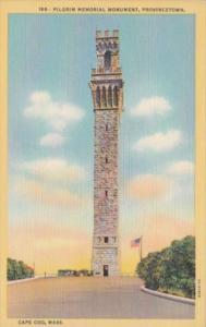 Massachusetts Cape Cod Provncetown Pilgrim Memorial Curteich