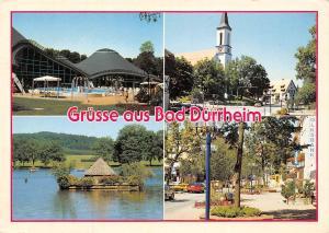 Gruesse aus Bad Duerrheim, Strasse Auto Cars Schwimmbad Kirche Church Lake
