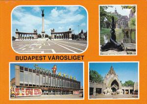 Hungary Budapest Varosliget Multi View
