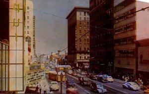 California Hollywood Hollywood Boulevard and Vine