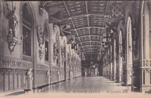 England Windsor Castle St George's Hall