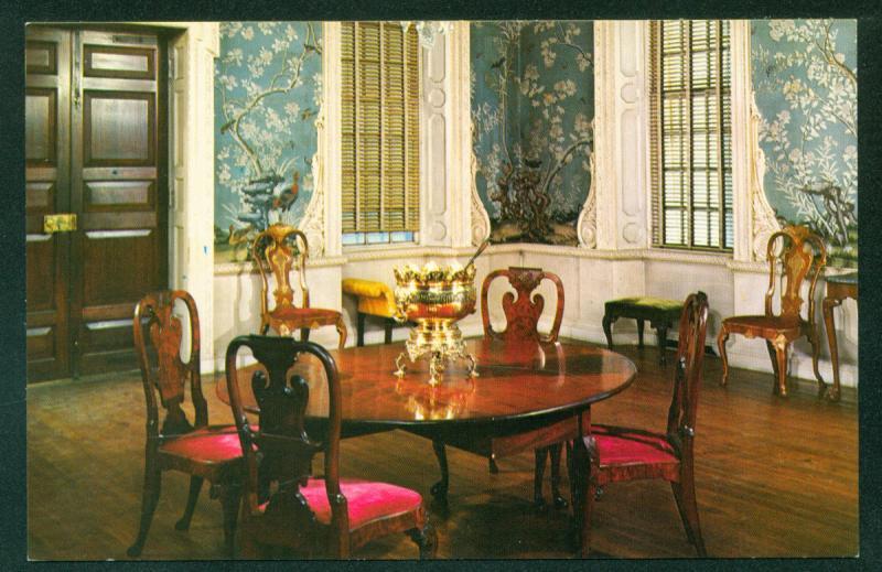 Supper Room Governor's Palace Williamsburg Virginia 18th Century Furniture VA