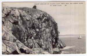 Bar Harbor, Maine, Highest Headland On The Atlantic Coast, Great Head
