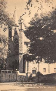 Tuckahoe New York Church Of Immaculate Conception Antique Postcard K19612