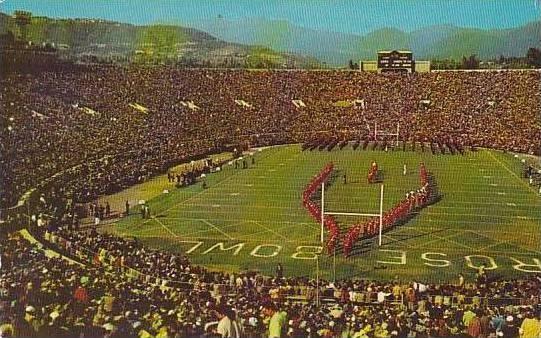 California Pasadena Rose Bowl