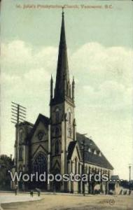 British Columbia, Canada St John's Presbyterian Church Vancouver  St John's P...