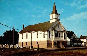 Maryland Smith Island Ewell Methodist Church and Parsonage
