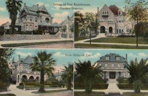 NEW ORLEANS, Louisiana, 1900-10s ; Fine Residences