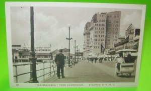 The Breakers Atlantic City Real Photo Postcard Vintage RPPC Boardwalk 194 NJ