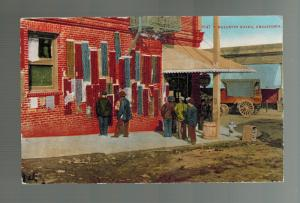 1920 San Francisco USA Chinatown RPPC Postcard cover Bulletin Board