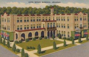 HARRISON , Arkansas, 1930-40s ; Hotel Seville