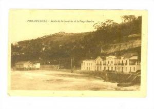Route De La Corniche Et La Plage Douera, Philippeville (Namur), Belgium, 1900...