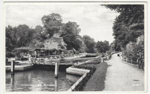 Berkshire; Sonning Lock, Reading 221446 PPC, Unposted, c 1920's