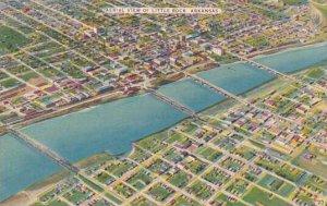 Arkansas Little Rock Aerial View Of Little Rock