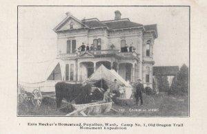 PUYALLUP , Washington , 1900-10s ; Homestead of Ezra Meeker