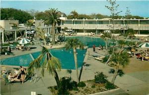 MS, Biloxi, Mississippi, Buena Vista Beach Motel and Hotel, Hugh Leighton SS-142