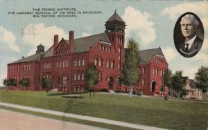 Michigan Big Rapids The Ferris Institute Largest School Of Its Kind In Michig...