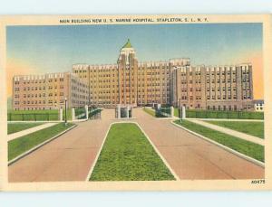 Linen HOSPITAL SCENE Stapleton - Staten Island New York NY hs0381