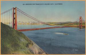 San Francisco, Calif., Bridging San Francisco's Golden Gate -