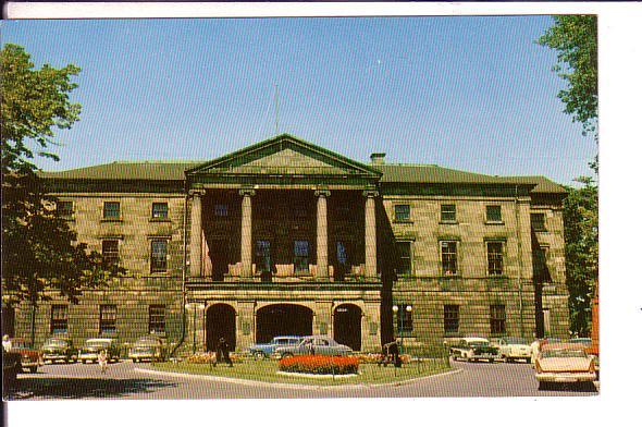 Provincial Building Charlottetown Prince Edward Island,