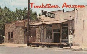 TOMBSTONE, Arizona, 1940-60s; OK Corral, Scene of the Earp Clanton feud fight