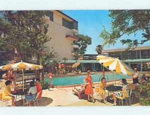 Pre-1980 BATHING BEAUTY AT LANGFORD MOTEL Winter Park Florida FL ho5384@