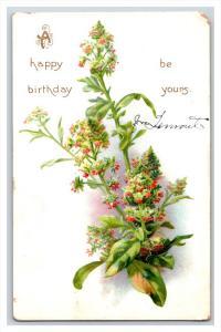 21231  Birthday   Flowers  Tuck's no. 125
