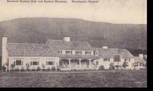 Vermont Manchester Ekwanok Country Club & Equinox Mountains Albertype