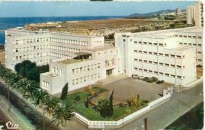 Algerie, Algeria, Oran, Le Lycee Pascal, 1967 used Postcard