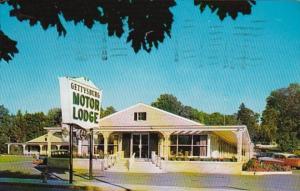 Pennsylvania Gettysburg Motor Lodge 1962