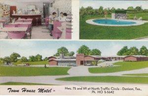 DENISON , Texas , 1963 ; Town House Motel