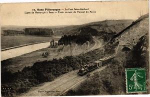 CPA Sens Pittoresque-Le Petit St-Gothard Ligne de MONTARGIS a Sens (266082)