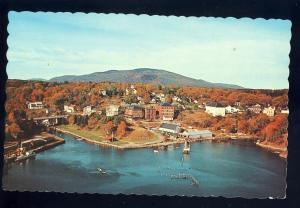 Rockport, Maine/ME Postcard, Aerial ViewOf Community