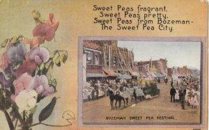 BOZEMAN , Montana , 1900-10s ; Sweet Pea Festival
