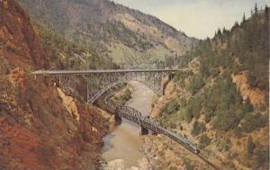 Pulga Bridges in the Feather River Canyon, California,PU-1967