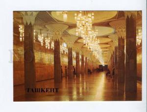 271929 Uzbekistan TASHKENT metro station Lenin Square 1986 year postcard