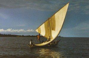 Africa Postcard - Sunrise over Lake Victoria - Tanzania - Ref TZ10115