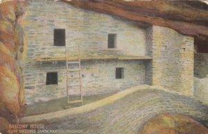 MANITOU , Colorado, 1900-10s ; Balcony House, Cliff Dwellers Canon