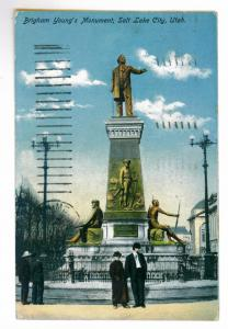 Salt Lake City, Utah to Farmington, Maine Brigham Young Monument