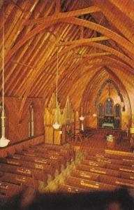 Virginia City Interior OF Historical St Pauls Episcopal Church