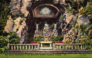Oregon Portland Sanctuary Of Our Sorrowful Mother The Grotto