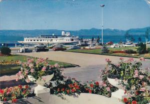 France Evian les Bains Les Jardin du Casino le Lac Leman