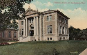 ST. CATHERINES , Ontario , Canada , 1909 ; Public Library